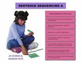 Sentence Sequencing A Manipulatives
