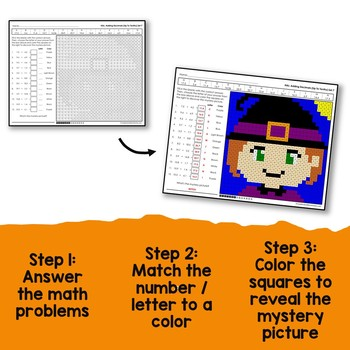 Halloween Decimal Operations Bundle