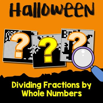 Halloween Dividing Fractions by Whole Numbers