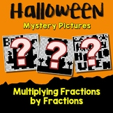 Challenge Activity Multiplying Fractions Halloween Coloring Page Mystery Picture