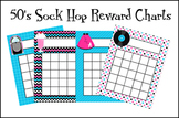 50's Sock Hop Incentive Reward Charts