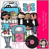 50s clip art- Melonheadz clipart