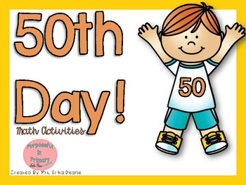 50th Day Acitivites!