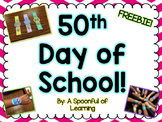 50th Day of School Bracelets! FREEBIE!