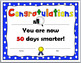 50th Day of School Certificate {50 Days}