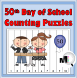 50 Days of School Number Puzzles