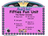 50th Day of School/ Fifties Day Sock Hop Unit