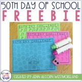 50th Day of School Freebie