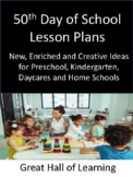 50th Day of School Lesson Plans