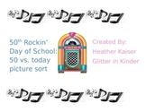 50th Rockin' Day of School Picture Sort