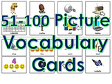 51-100 Picture Vocabulary Cards for Print (100 Cards)