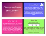 51 Classroom Games and Activities