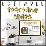 51 EDITABLE Teaching Slide Templates   PowerPoint & Google Slides