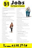 51 Jobs for Teens 'n Tweens