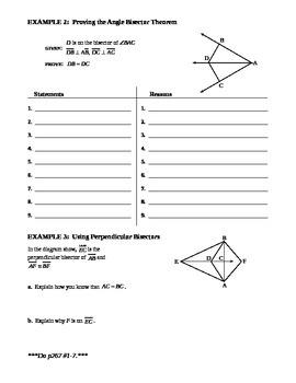 5.1 Perpendiculars and Bisectors (A)