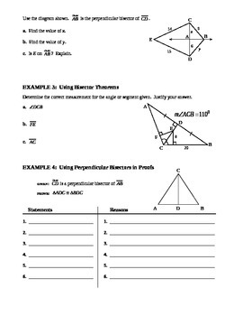 5.1 Perpendiculars and Bisectors (B)