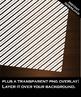 Digital Paper - Whimsy Stripes + DIY Overlay