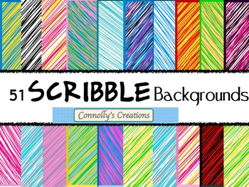 51 Scribble Backgrounds