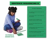 Sentence Sequencing B Manipulatives