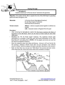 5104-5 The Silk Road
