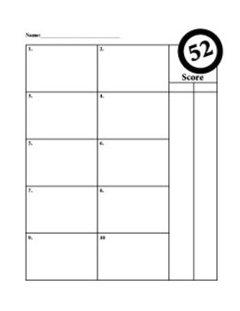 52 - A FUN Two Player Order of Operations Math Card Game