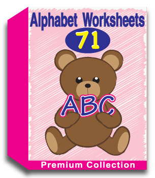 52 Alphabet Worksheets - Writing Practice, Review Sheets, and More!
