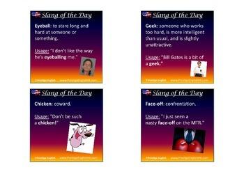 52 American/USA Slang Words