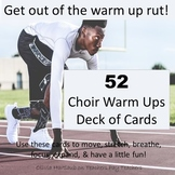 52 Choir Warm Ups: Music Deck of Cards
