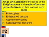 UNIT 9 LESSON 3. Effects of American Revolution POWERPOINT