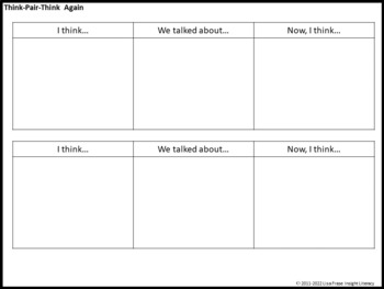 52 Graphic Organizers for Reading, Thinking, & Learning