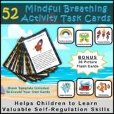 52 Mindfulness Breathing Activity Task Cards for Self-Regulation Skills