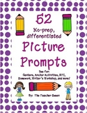 52 No-prep, Differentiated Picture Prompts for Writing