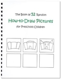 52 Random How-To-Draw Pictures for Preschool Children (Digital Download)