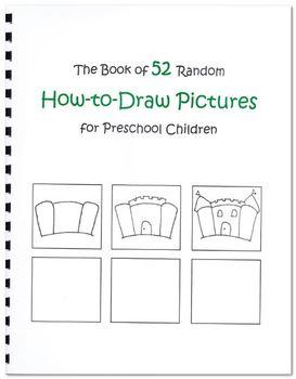 52 Random How-To-Draw Pictures for Preschool Children (Digital Download)