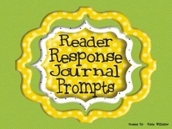52 Reader Response Journal Prompts