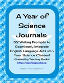 52 Science Journal Prompts to Integrate Writing in the Science Classroom
