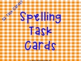 52 Spelling Activities Task Cards