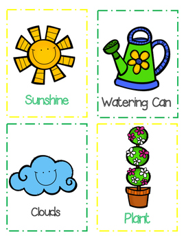 Word Cards: Spring