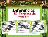 52 Tarjetas de tarea de inferencia