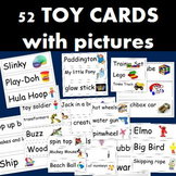 52 Toy Picture Cards