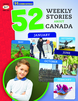 52 Weekly Stories About Canada Grades 6-7