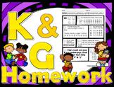 52 weekly /k/ & /g/ homework printables - speech therapy, 5 min kids
