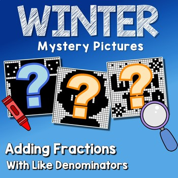 Winter Adding Fractions With Like Denominators