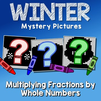 Winter Multiplying Fractions by Whole Numbers