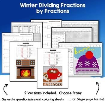 Winter Dividing Fractions by Fractions