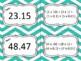 5.2A Decimal Expanded Notation Task Cards to Thousandths Set 1 & Set 2