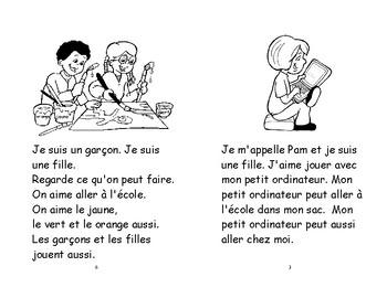 53 A) les filles et les garçons - livret de lecture ENFANT C1 1ère-2e