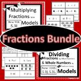 5.3 I J L Multiplying and Dividing Fractions Bundle