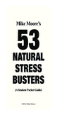 53 Natural Stress Busters for Students