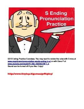 "53 ""S"" Ending Practice Exercises APP"